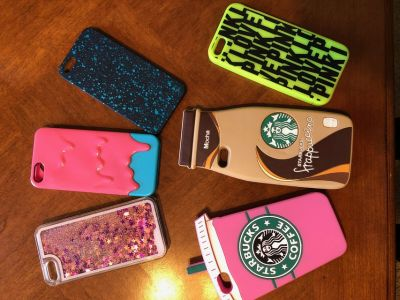 iPhone Cases for 5S or SE (Starbucks, PINK, etc)