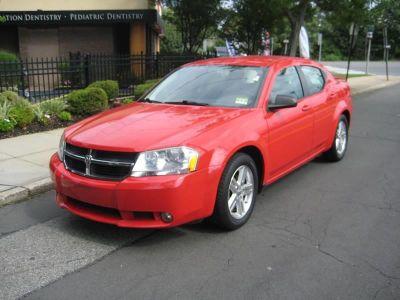 2009 Dodge Avenger SXT (Red)