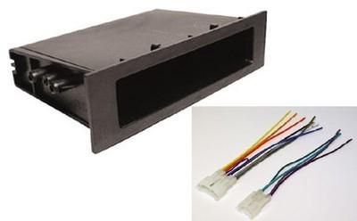 Buy Complete Toyota Car Stereo Radio Install Pocket Trim Dash Kit Wiring Harness motorcycle in Oliver Springs, Tennessee, US, for US $12.36