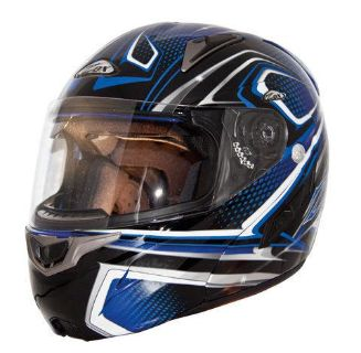 Buy ZOX GENESSIS RN2 PLEDGE GRAPHIC BLUE-L 86-D56524 motorcycle in Ellington, Connecticut, US, for US $174.95