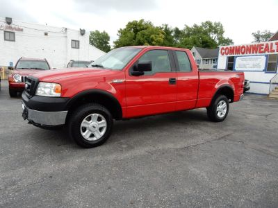 2007 Ford F-150 XL (Bright Red)