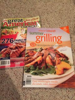 Two grilling magazines