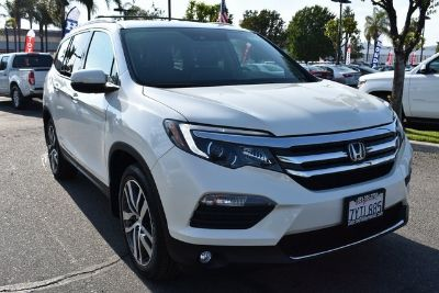 2017 Honda Pilot Elite (White Diamond Pearl)