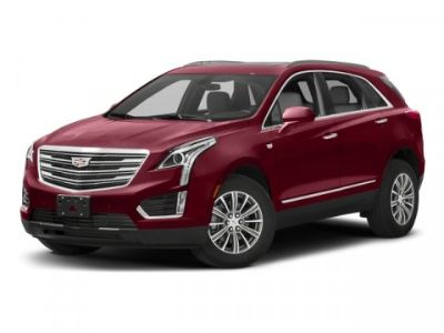 2017 Cadillac XT5 Luxury FWD (Silver Coast Metallic)