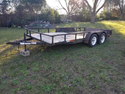 7X16 Car Hauler Utility Trailer!