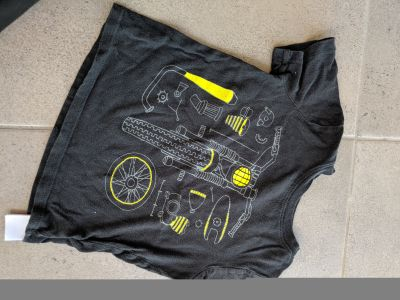 3T Old Navy Bike Parts Shirt