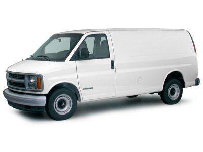 2000 Chevrolet Express 3500 G3500 (Indigo Blue Metallic)
