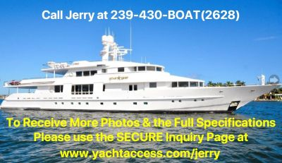 1988, 143 VAN MILL 143 Tri Deck Motor Yacht For Sale