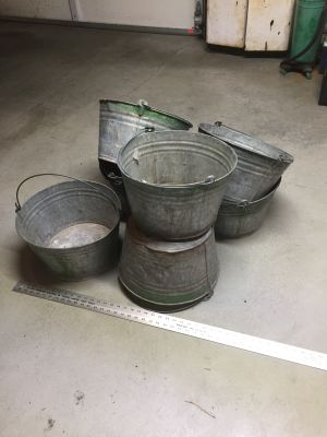 Vintage Orchard Buckets- $8 each 6 left