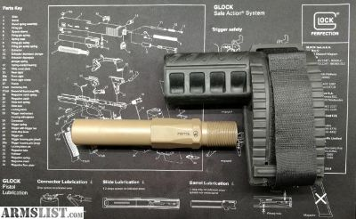 For Sale: FS: SBX brace + Phase 5 FDE Hex 2 Pistol Buffer Tube