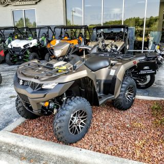 2019 Suzuki KingQuad 500AXi Power Steering SE+ Utility ATVs Hickory, NC
