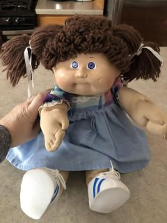 Cabbage Patch Doll brown hair