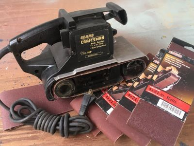 "Craftsman 4"" Belt Sander"