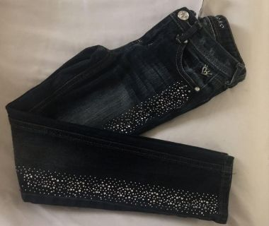 Justice girls size 8 skinny jeans