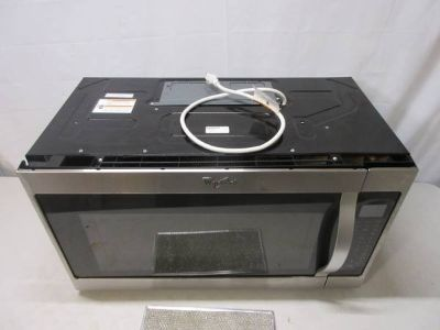 Whirlpool Stainless Steel 2.0 Cu. Ft. Over-The-Range Microwave Hood Co