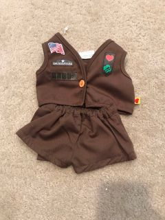 Brownie doll uniform.