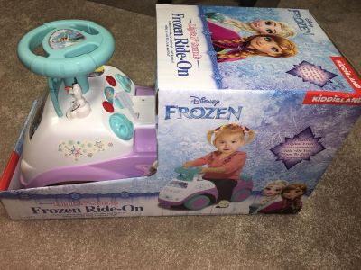 New frozen ride on toy