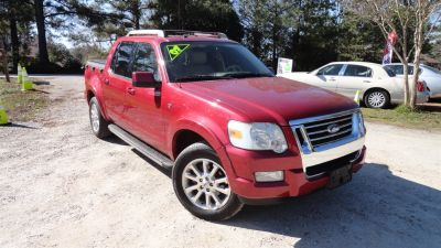 2007 Ford Explorer Sport Trac Limited (Red)