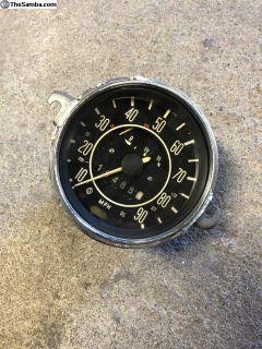 Late Beetle Speedometer Good Used Tested