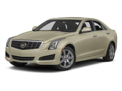 2014 Cadillac ATS 2.5L (Radiant Silver Metallic)