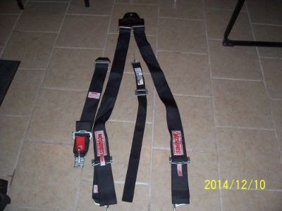 Sell Simpson Racing Seat Belt Lot Hot Rod Performance Parts Black Partial Used RS motorcycle in Euclid, Ohio, United States, for US $39.95