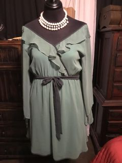 Green colored women s dress