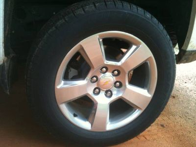 New Chevy 20 wheels and tires (Center)