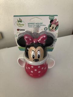 Minnie Mouse new cup with straw