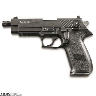 "For Sale: GSG FireFly HGA, Semi-Automatic, .22LR, Rimfire, 4"" Threaded Barrel, Black, 10+1 Rounds Same gun as Sig Sauer Mosquito"