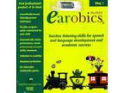 Earobics Pro Plus Step 1 PC CD professional child speech &