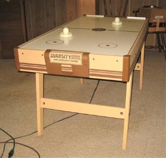 Vintage Brunswick VARSITY Air-Hockey Game - Works