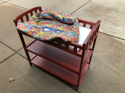 Changing table + grocery cart seat cover