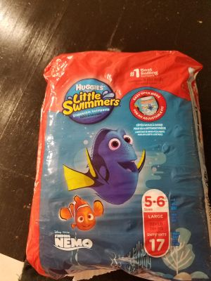 Open pack of little swimmers