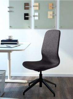 L NGFJ LL Conference/Office chair, dark gray