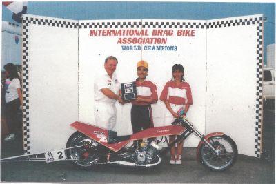 Kawasaki H2 750 National Championship Drag Bike