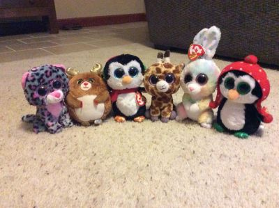 TY Beanie Boos. Excellent condition, just sat on a shelf. Smoke free home. $7 for all