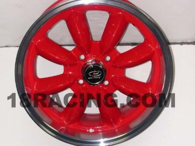Buy ROTA WHEEL RB 16X7 4x114.3 +22 RRED DATSUN 510 SAAB PRELUDE motorcycle in FREMONT, CA, US, for US $575.00