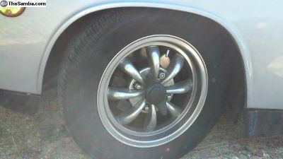 Reduced price,polished 4 lug 8 spoke rims