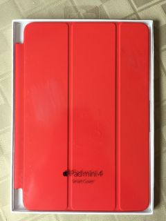 New iPad mini 4 smart cover Red