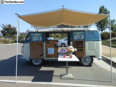 1956 Double Door camper van