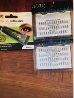 Ardell individual Lashes and Kiss Glue