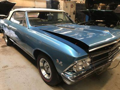 1966 Chevrolet Chevelle SS Trim 396