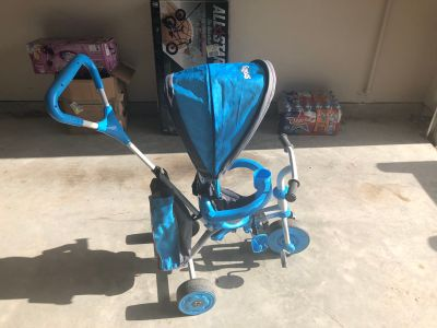 Strolly Spin 2-n-1 Stroller and Trike Blue