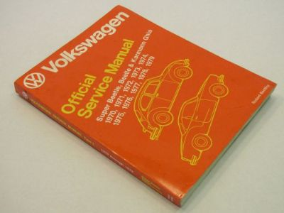 Sell 1970 - 1979 VW VolksWagen Beetle & Super Karmann Ghia OEM Service Repair Manual motorcycle in Bethpage, Tennessee, United States, for US $34.90