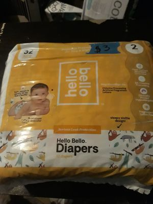 Hello Bello diapers size 2