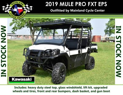 2019 Kawasaki Mule PRO-FXT EPS Utility SxS La Marque, TX