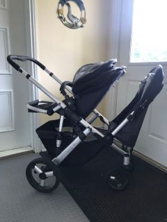 Uppababy vista stroller - single/double