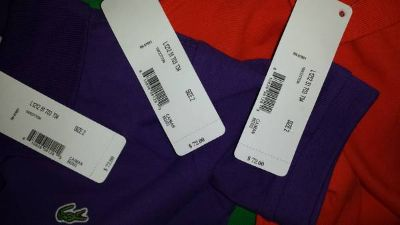 3 new lacoste shirts