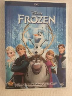 Disney s Frozen dvd Light scratches, but tested & works great!