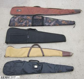 For Sale: 5 Gun Cases, 3 Vintage Kolpin & 2 newer style